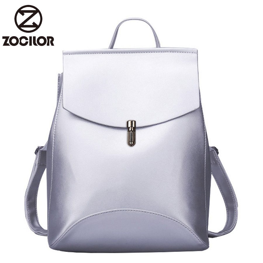HOT Fashion Women Backpack High Quality Youth Leather Backpacks for Teenage Girls Female School Shoulder Bag Bagpack mochila