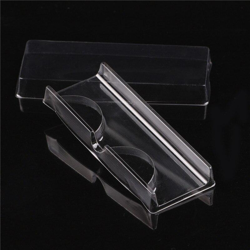 10Pcs/lot High Quality Acrylic Eyelash Pull type Storage Case Packing Box for Magnetic Eyelash box Transparent Lid Clear Tray(China)
