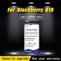 High quality 2700mAh ACC-53785-201 / BAT-52961-003 / NX1 Battery For  Blackberry Q10 / Q10 LTE / Q10 LTE SQN100-1 Phone battery