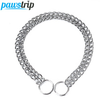 Durable Double Chain Outdoor Dog Training Collar