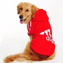 Q4 Plus Size Big Pet dog Hoodies Sweater Autumn/Winter Large Dog Coat Jacket Clothing for Golden Retriever 2XL-9XL