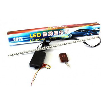 Free shipping RGB 7-Color 5050 LED Scanner Strip Lighting Kit with Wireless Remote Control ( LED Knight Rider Light) 110v 220v electric waffle belgian liege waffle baker maker machine iron