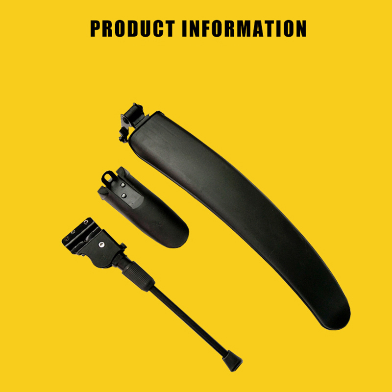Bike Mudguard Kickstand for Qicycle EF1 Electric Bike Bike Parts Fender Tripod Support High Quality Splash Guard