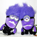 Despicable Me  plush toy dolls Despicable Me 2 Thief Daddy purple plush 12-inch small yellow people 2pcs/lot