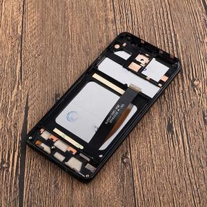 """Image 4 - Цветной для UMI Umidigi A1 Pro ЖК дисплей и сенсорный экран с рамкой 5,5 """"аксессуары для телефонов UMI Umidigi A1 Pro + пленка"""