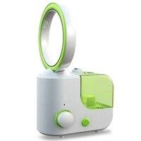 HOT! Leafless Fan Humidifier Creative Air Conditioner Purifier(Eu Plug)