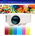 Brand New Led Mini Digital Portable Projector Perfect For Video Games TV Movie Support AV USB SD VGA HDMI 3D Projector