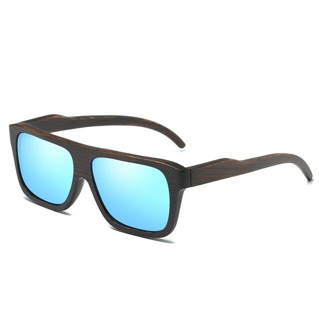 EZREAL Polarized Wood Sunglasses Retro Bamboo Frame Driving Sun Glasses Handmade Wooden Eyewear Glasses For Men Women EZ029 10