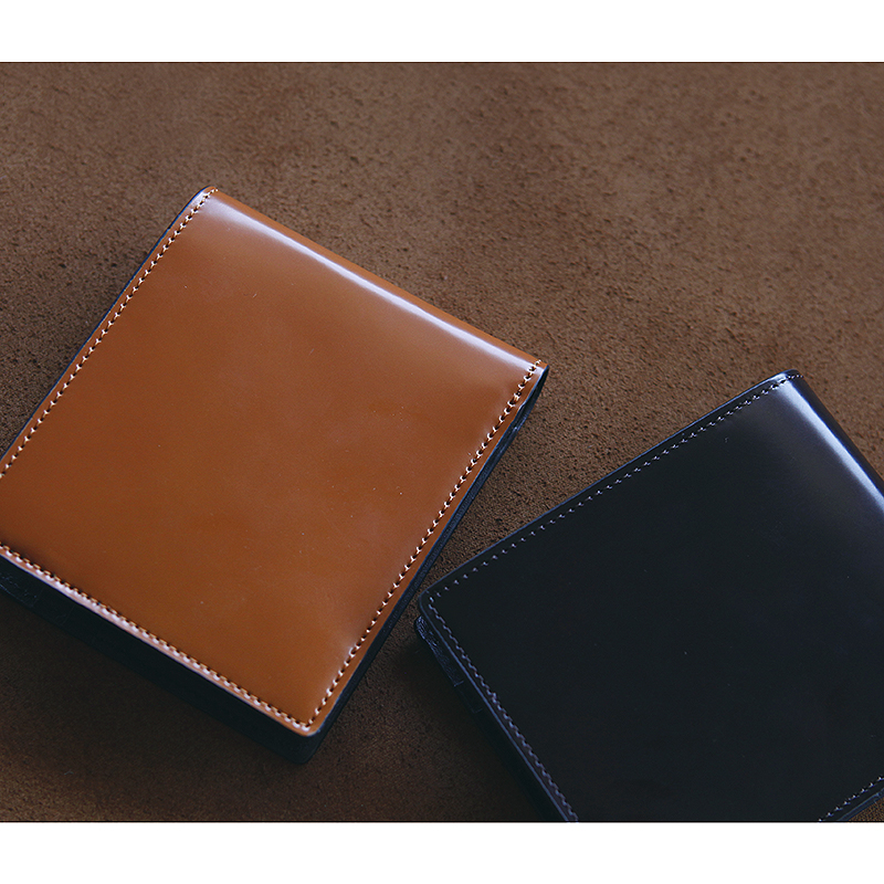 LANSPACE men's crup leather wallet handmade short purse brand high quality wallet