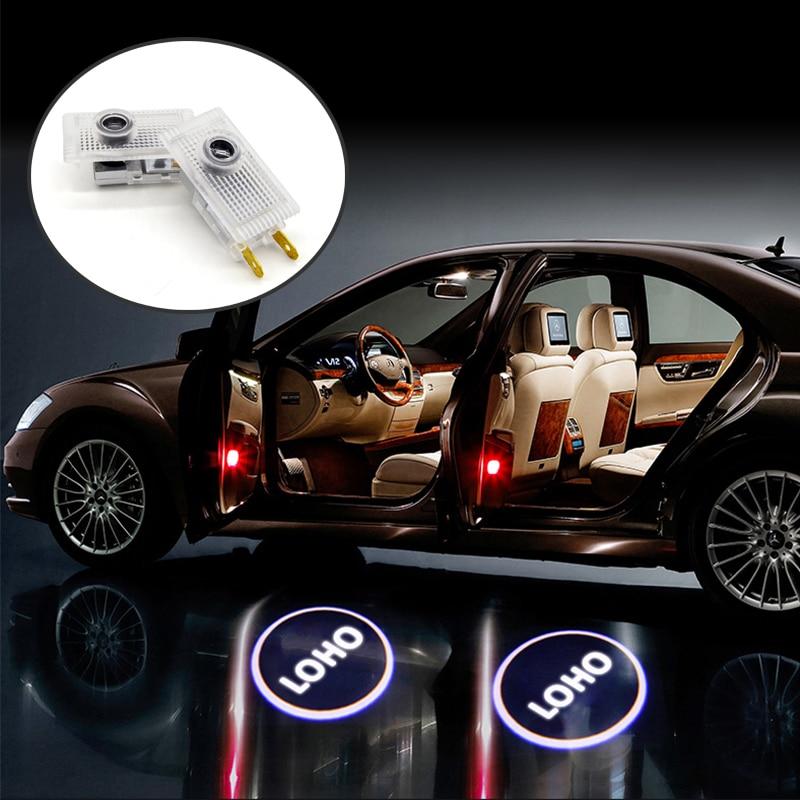 Atreus 1Pair LED Courtesy İşıqlar 12V Avtomobilin qapısına xoş - Avtomobil işıqları - Fotoqrafiya 6