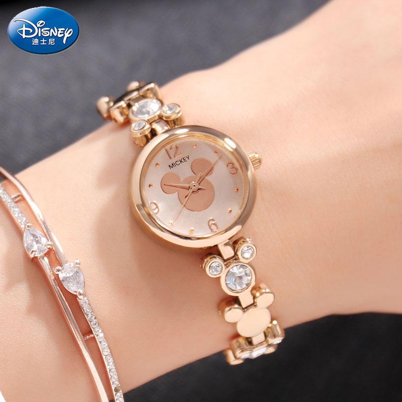 DISNEY marque femmes montres mode Mickey robe montres pour femme montre à Quartz dames montre-bracelet femme horloge Relogio Feminino