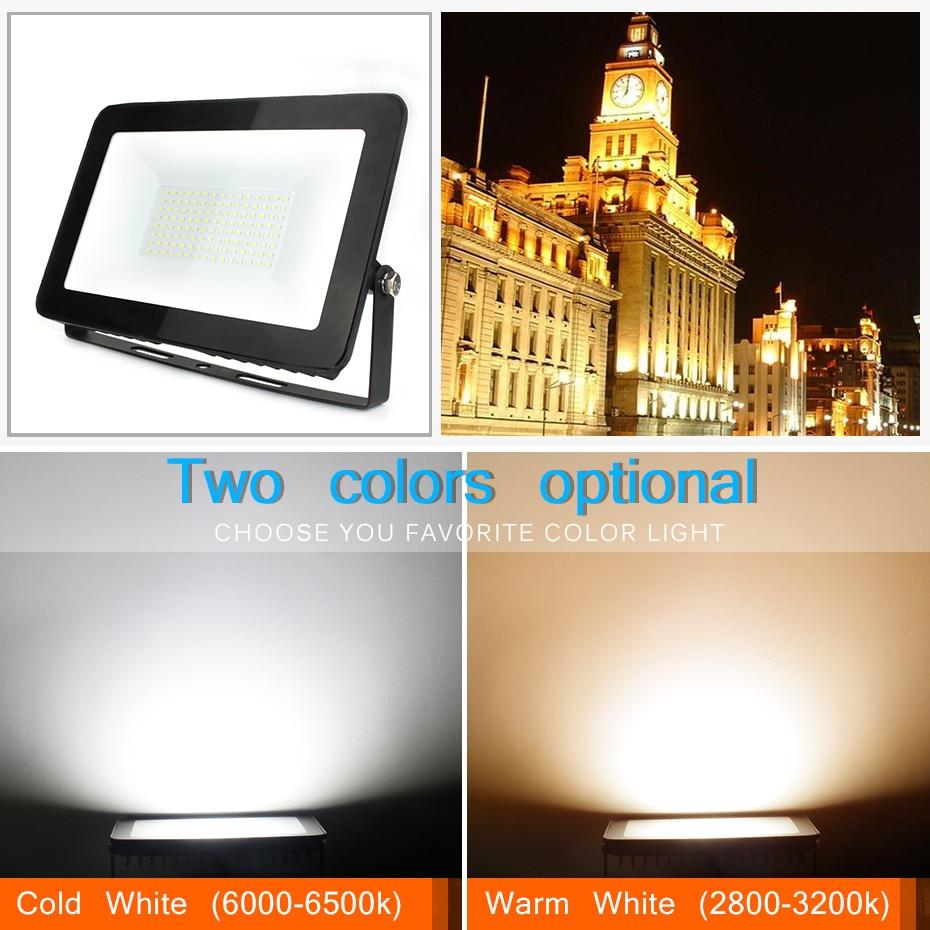 LED Floodlight 150W 100W 50W 30W 10W εξαιρετικά λεπτό - Εξωτερικός φωτισμός - Φωτογραφία 5