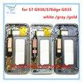 1 шт. Оригинал Средний Корпус Рамка Рамка Середина Шасси Замена Для Samsung Galaxy S7 G930/S7edge G935 РАМКА + отслеживая