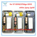 1pcs Original Middle Frame Housing Bezel Mid Chassis Replacement For Samsung Galaxy S7 G930/S7Edge G935 BEZEL + tracking