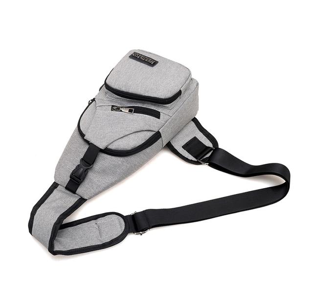Male Shoulder Bags USB Charging Crossbody Bags Men Anti Theft Chest Bag School Summer Short Trip Messengers Bag 2018 New Arrival