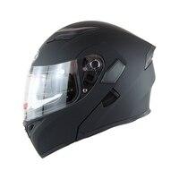 Dot Double Sun Visor Flip Up Helmet Motorcycle Helmets Motorbike Capacete Moto Casco Motocross