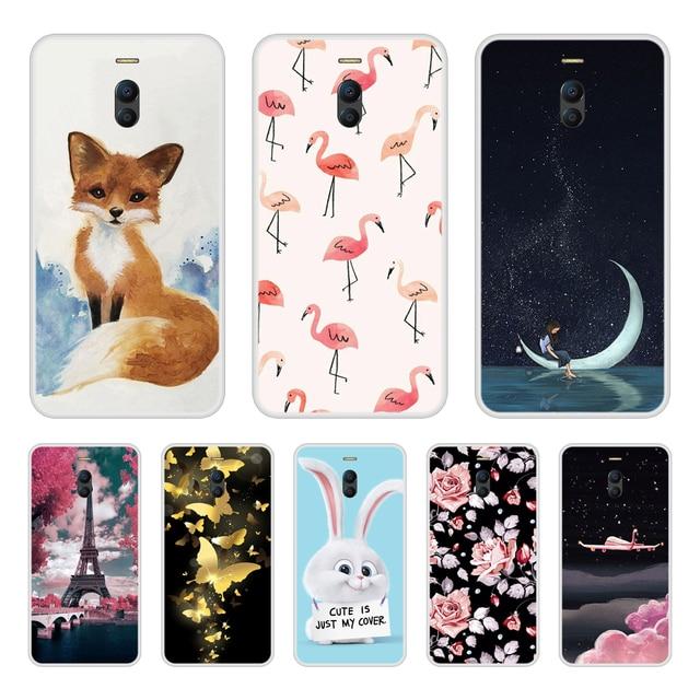 Phone Case For Meizu M6 Note Soft Silicone TPU Cool Design Pattern Printing For Meizu M6 Note Case