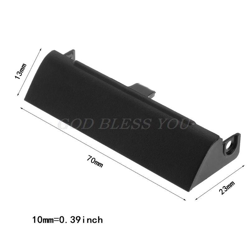 5 Pieces Hard Drive HDD Cover Caddy for Dell Latitude E6420 E6320 E6520 Black