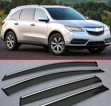 For Acura MDX 2014 2015 2016 Window Wind Deflector Visor Rain/Sun Guard Vent