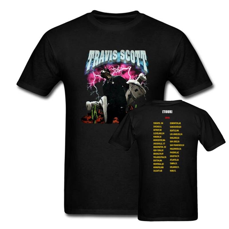 Travis Scott Stift & Pixel T hemd Männer & Frauen zwei seiten RODEO MADNESS Tour casual geschenk t USA Größe s-3XL