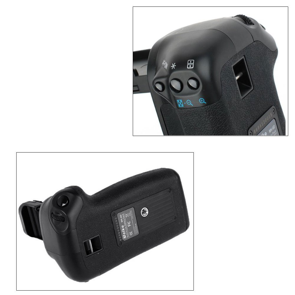 MEKE Meike MK-6D Vertical Battery Grip Holder for Canon 6d
