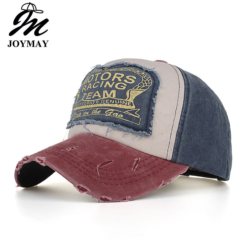 JOYMAY Spring Cotton Cap Baseball Cap Snapback Hat Summer Cap Hip Hop Fitted Cap Hats For Men Women Dropshippng accepted B553