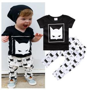 JIOROMY  Ebay for spring, summer, pure cotton printed suit children, childrens wear INS a undertakes to detonation model