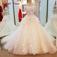 Angel Tree Alibaba China Bridal Gowns Ball Gown Lace Up Back Short Sleeves Off The Shoulder