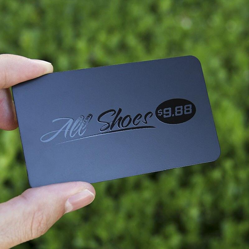 Metal card metal membership card dumb black metal card high grade ...