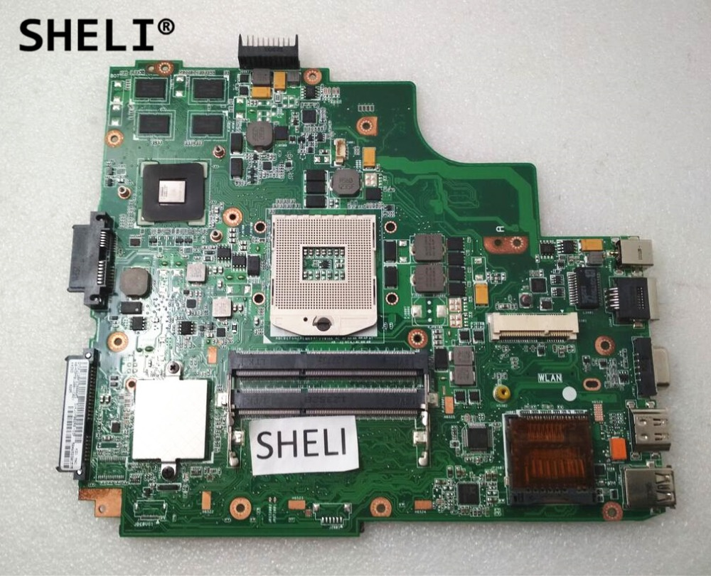 SHELI For ASUS K43E K43SD Motherboard REV 4.2 2GB with GT610M video card HM65SHELI For ASUS K43E K43SD Motherboard REV 4.2 2GB with GT610M video card HM65