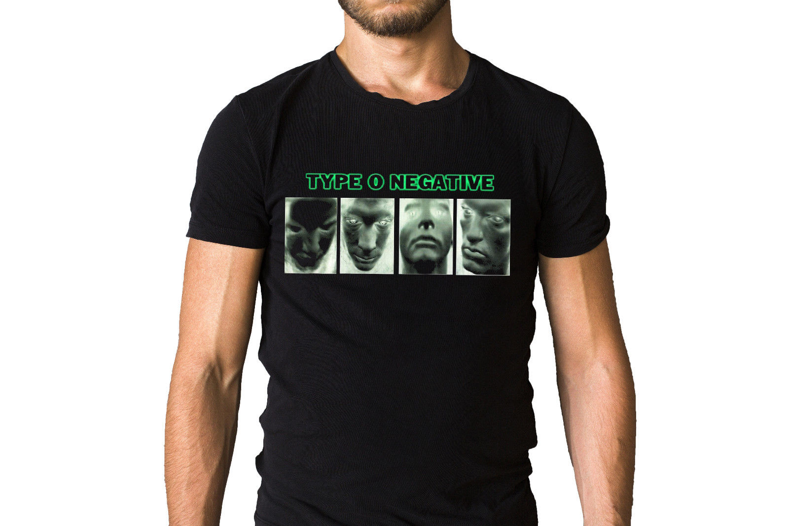 Type O Negative Band Group Black T-Shirt Round Neck Best Selling Male Natural Cotton T Shirt TOP TEE Funny Tees Men Short