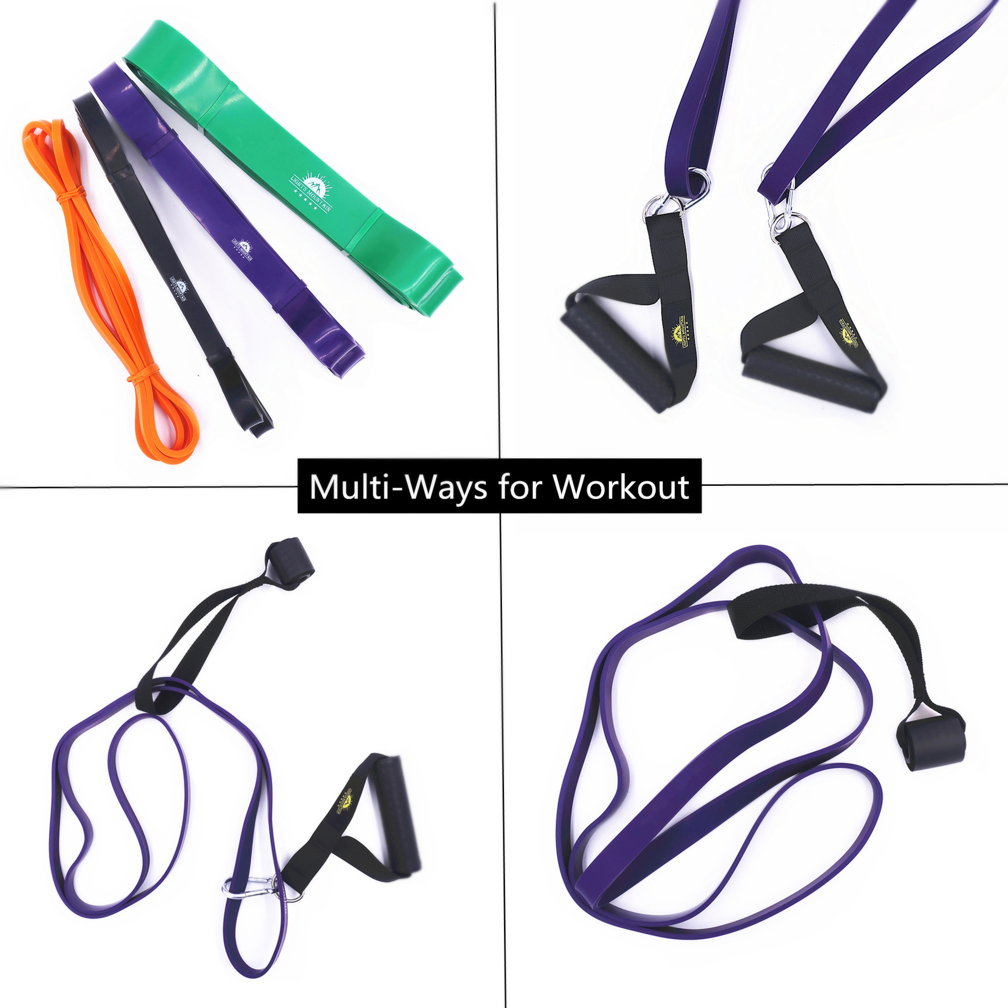 Pull Up Assist Resistance Bands Set Heavy Duty Power lifting Stretch Expander Bands Fitness Gym Workout Training Equipment