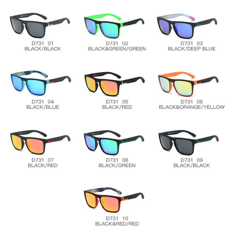 DUBERY Polarized Sunglasses Aviation Driving Shades Male Sun Glasses - Accesorios para la ropa - foto 2