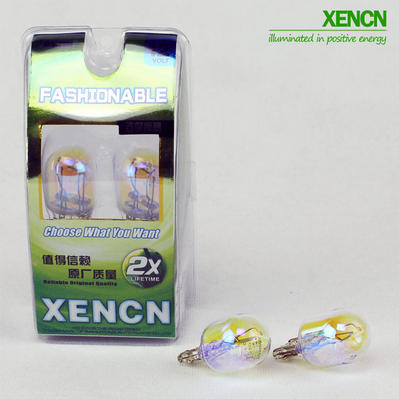 XEMCN <font><b>W21</b></font>/<font><b>5W</b></font> T20 12V 21/<font><b>5W</b></font> Car Signal Lights 1891 Auto Wedge bulb Brake Light Excellent Quality Packing Lamps Free Shipping 2PCS image