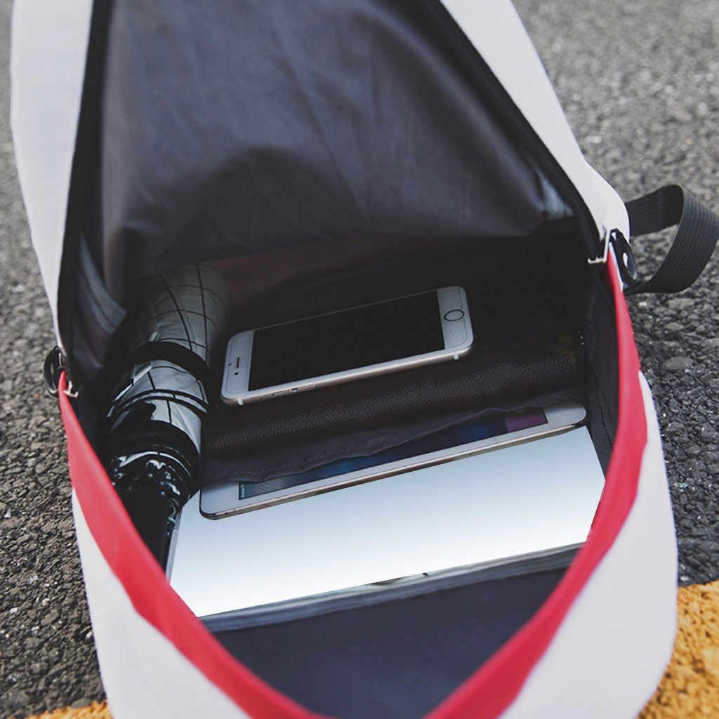 Aelicy Женский Рюкзак Школьная Сумка для подростков колледж холст женский рюкзак хит цвет ноутбук рюкзаки Bolsas Mochila
