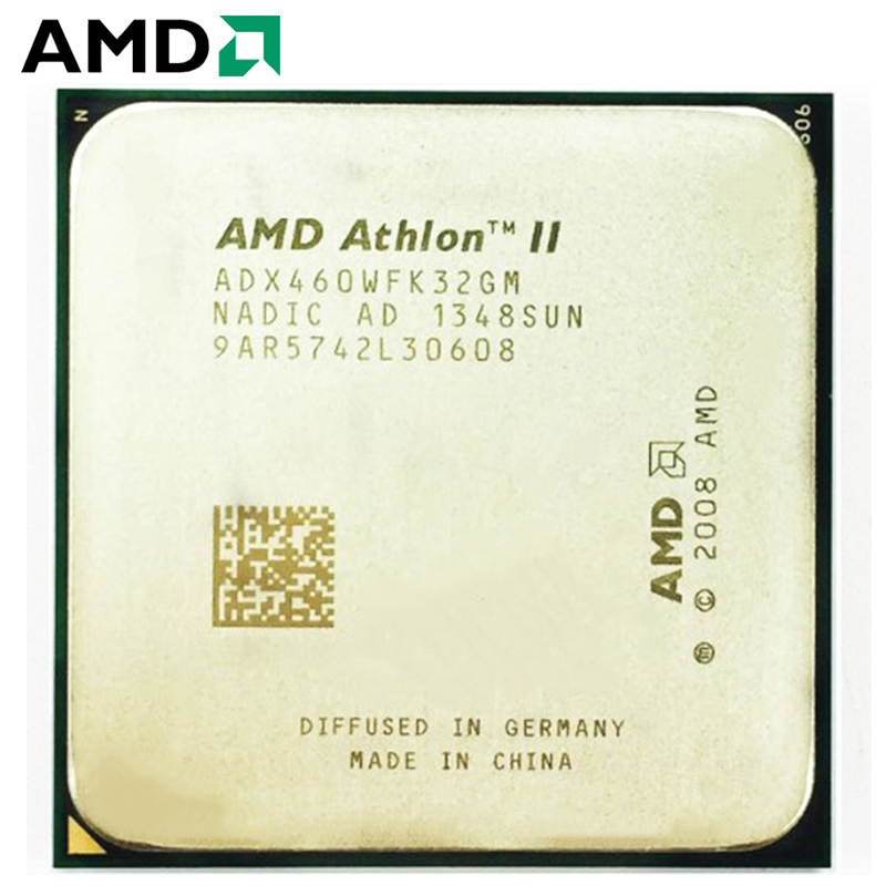 AMD Athlon II X3 460 CPU Socket AM2+ AM3 95W 3.4GHz 938-pin Three-Core Desktop Processor CPU X3 460 Socket Am2+ Am3