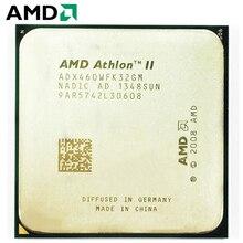 AMD Athlon II X3 460 cpu Разъем Am2 + AM3 95 W 3,4 GHz 938-pin трехъядерный настольный процессор cpu X3 460 Разъем Am2 + am3