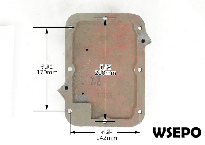 OEM Quality! Rear Cover for L28/L32 4 Stroke Single Cylinder Small Water Cooled Diesel EngineOEM Quality! Rear Cover for L28/L32 4 Stroke Single Cylinder Small Water Cooled Diesel Engine