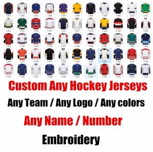 5e711a42 Custom ICE Hockey Jerseys Replica Home Away Mens Woman Kid Youth Vintage  Jersey