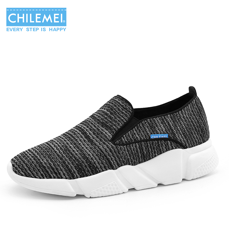 CHILEMEI Unisex Summer Breathable Mesh Men Shoes Lightweight Male Flats Fashion Casual Shoes  Men Loafers Free Shipping fgn men s new 2017 casual summer breathable male wear resistant mesh shoes comfort trend of male flats shoes