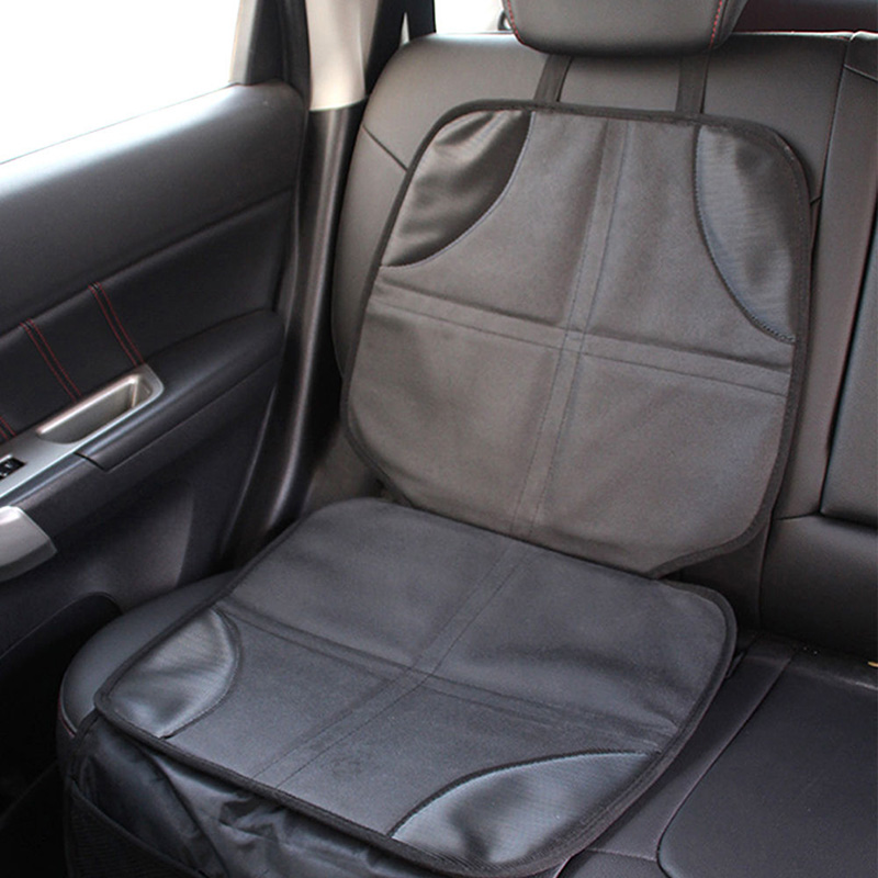 Child Car Seat Black Leather Protector Baby Auto Mat Protection For Seats In Automobiles Covers From