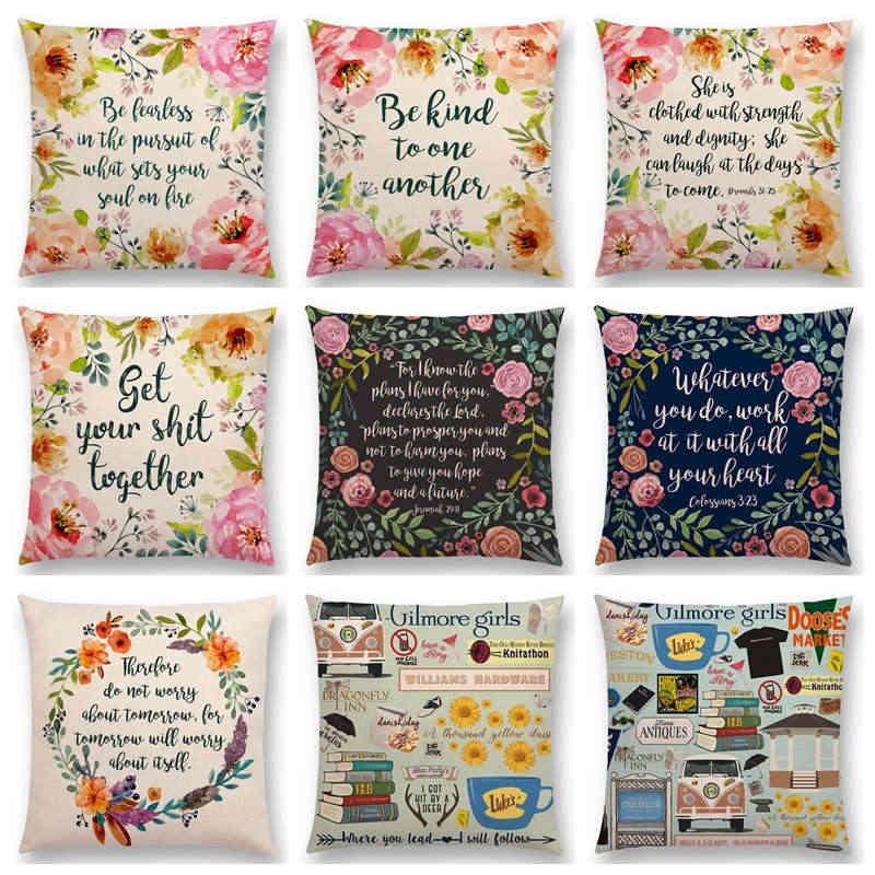 Gilmore Girls Cute Pillow Cover Cushion Sofa Case