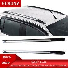 2019 Roof Rails Rack Carrier Bars For Isuzu D-max Toyota Hilux Revo Rocco 2016 2017 2018 2019 Double Cabin Decorative цена
