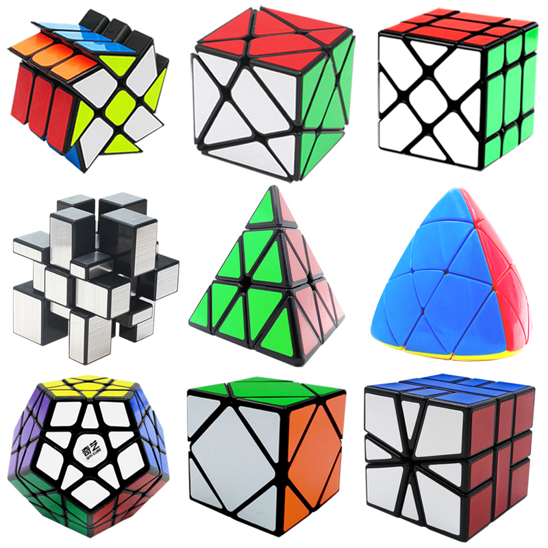 Classic IQ Magic Cube Puzzle Educational Logic Mind Brain Teaser Puzzles Game Toys for Adults Children yj brain teaser 2 x 2 x 2 magic iq cube multicolored
