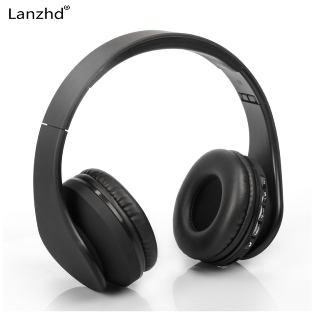 Earphone Smart Wireless Bluetooth Stereo Headset Headphone with MIC Support 3.5mm Stereo Audio Handsfree for Phone Tablet PSP