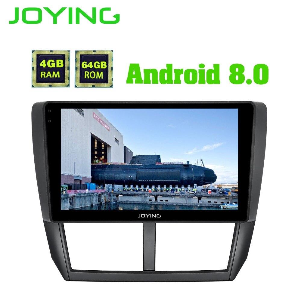 JOYING 9 4 gb + 64 gb Android Voiture radio Stéréo Audio GPS Navigation Autoradio Pour Subaru Forester 2008-2012 Lecteur Multimédia