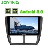 JOYING 9 4GB+64GB Android Car radio Stereo Audio GPS Navigation Head Unit For Subaru Forester 2008 2012 Multimedia Player