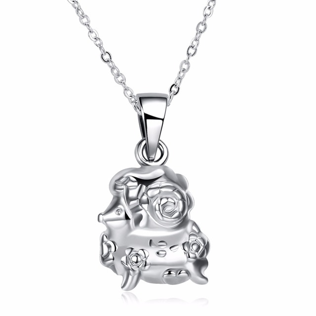 Hot 925 sterling silver jewelry accessories lamb popular chinese hot 925 sterling silver jewelry accessories lamb popular chinese wind zodiac pendant necklace womens wedding gift mozeypictures Gallery