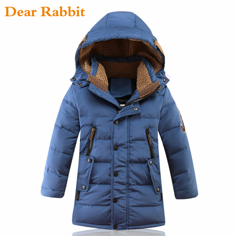 30 Degree Children kids Winter Duck Down Jacket Padded Children Clothing 2019 Big Boys clothes