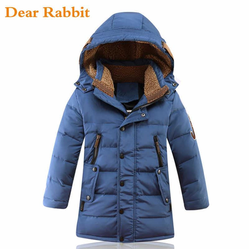 Детская зимняя куртка-пуховик на утином пуху до 30 градусов детская одежда с подкладкой 2019 г. одежда для больших мальчиков теплое пальто утепленная верхняя одежда